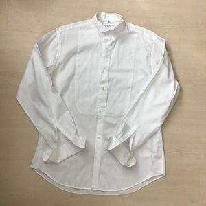 Vintage Giorgio Armani tuxedo shirt white